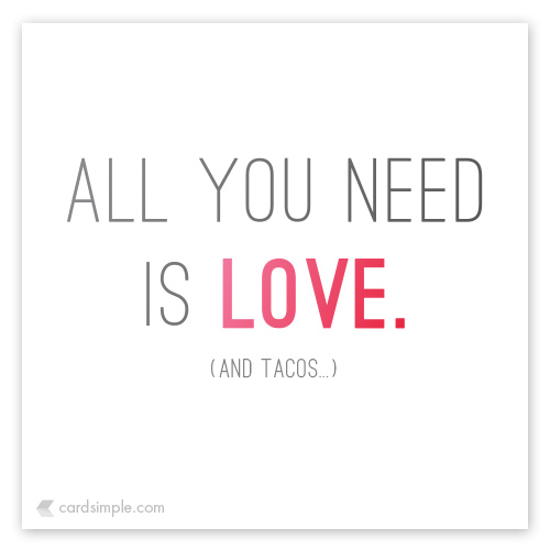 It's really all you need.