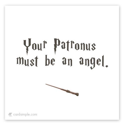 It must be an angel.