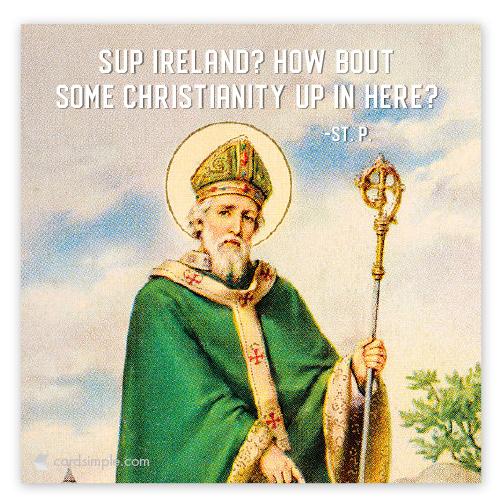 Sup Ireland...