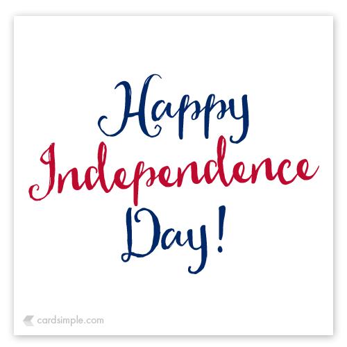 Enjoy your freedom